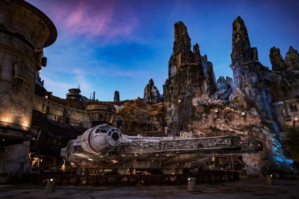 Photo of the entrance to Millennium Falcon: Smuggler's Run ride at Hollywood Studios.